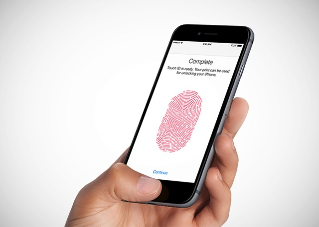 Apple touch id feature